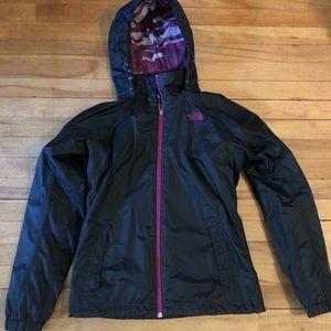Women's North Face Venture rain coat